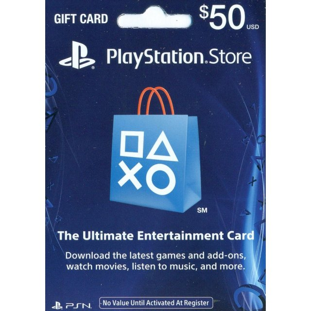 PSN Playstation Network Gift Card 50$ (USA) + discount