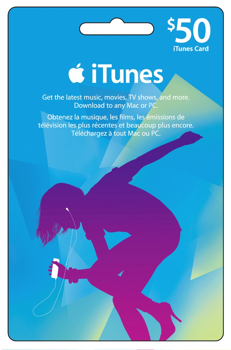 iTunes Gift Card 50 $ (USA) + DISCOUNTS