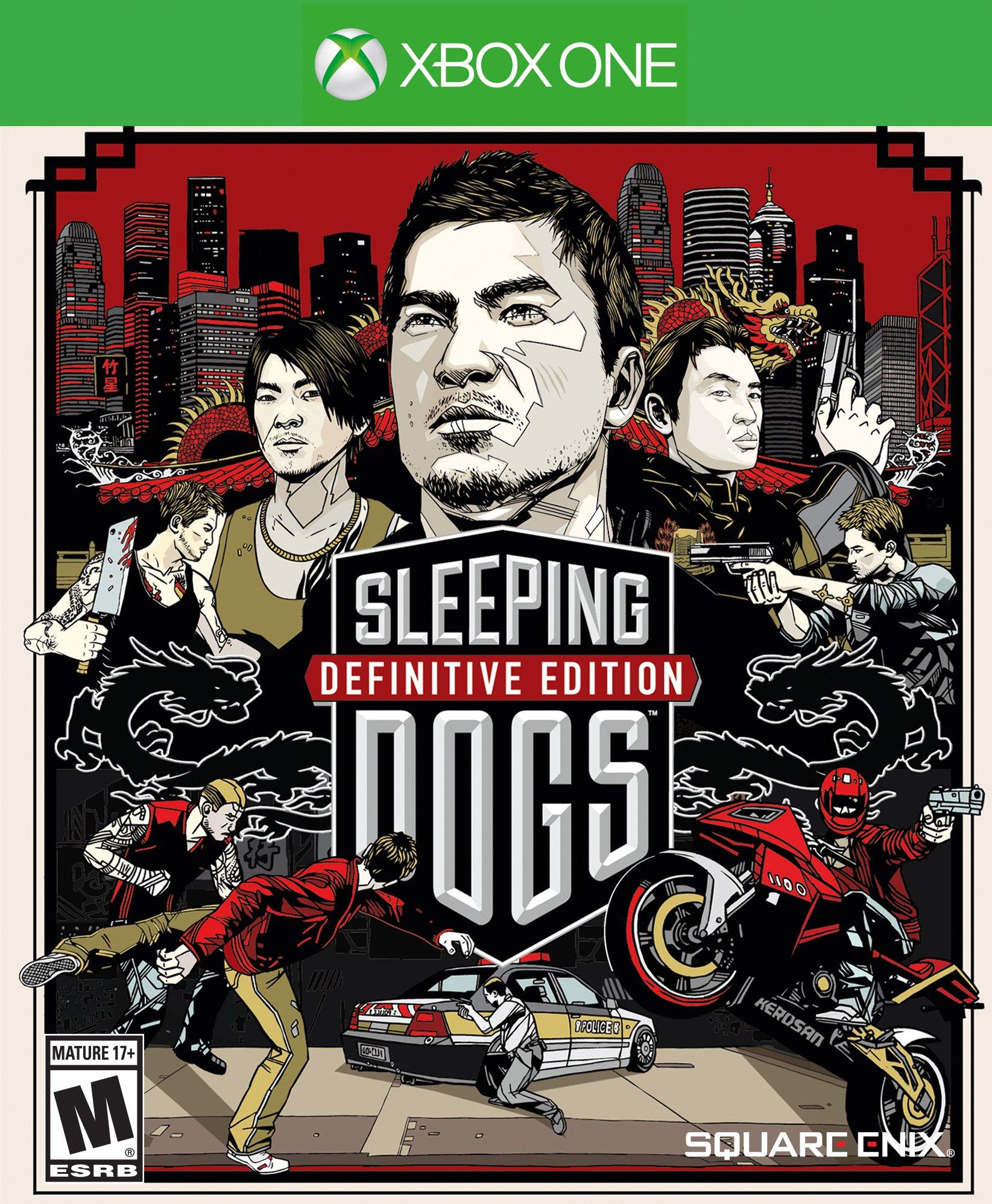 Sleeping Dogs  Definitive Edition XBOX ONE ключ