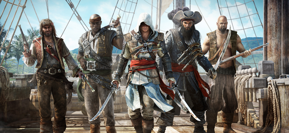 Assassins Creed IV: Black Flag + Подарок
