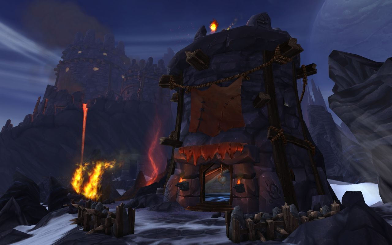 World of Warcraft WOW : Warlords of Draenor + 90lvl RU