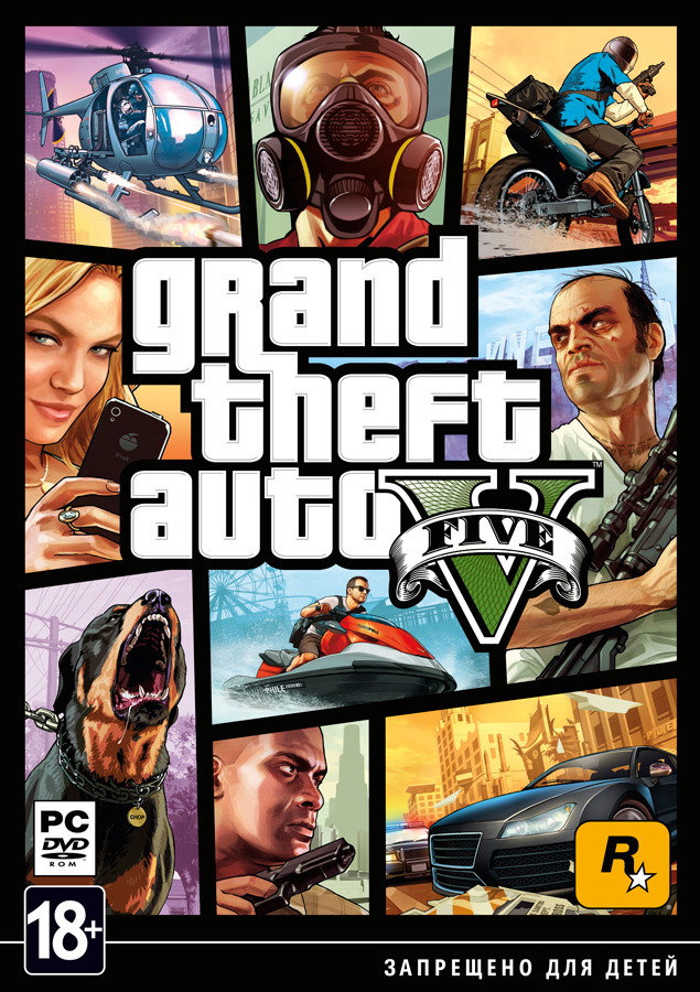Grand Theft Auto V/GTA 5 PC[ONLINE+WARRANTY]
