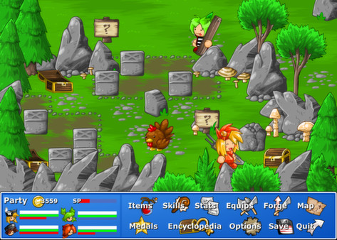 Epic Battle Fantasy 4 (Steam Key, Region Free)