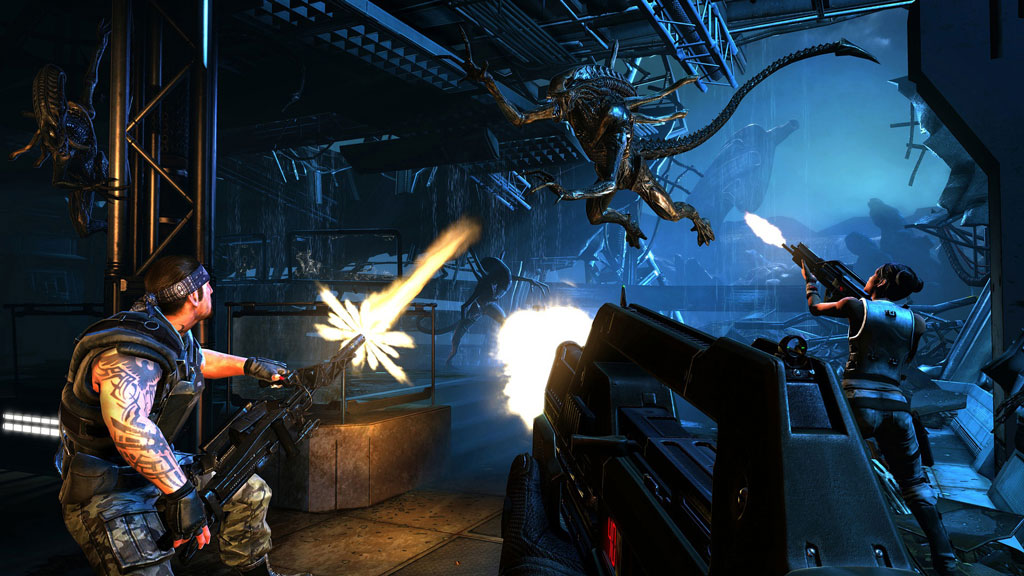 Aliens Colonial Marines - key right + discounts and gifts