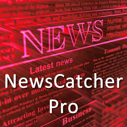 News adviser NewsCatcher Pro + 100% per month
