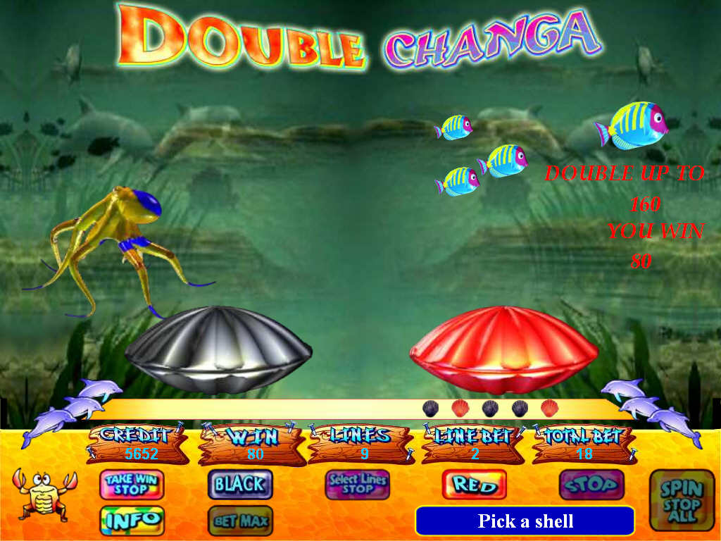 Slot machine emulator Chunga Shanga
