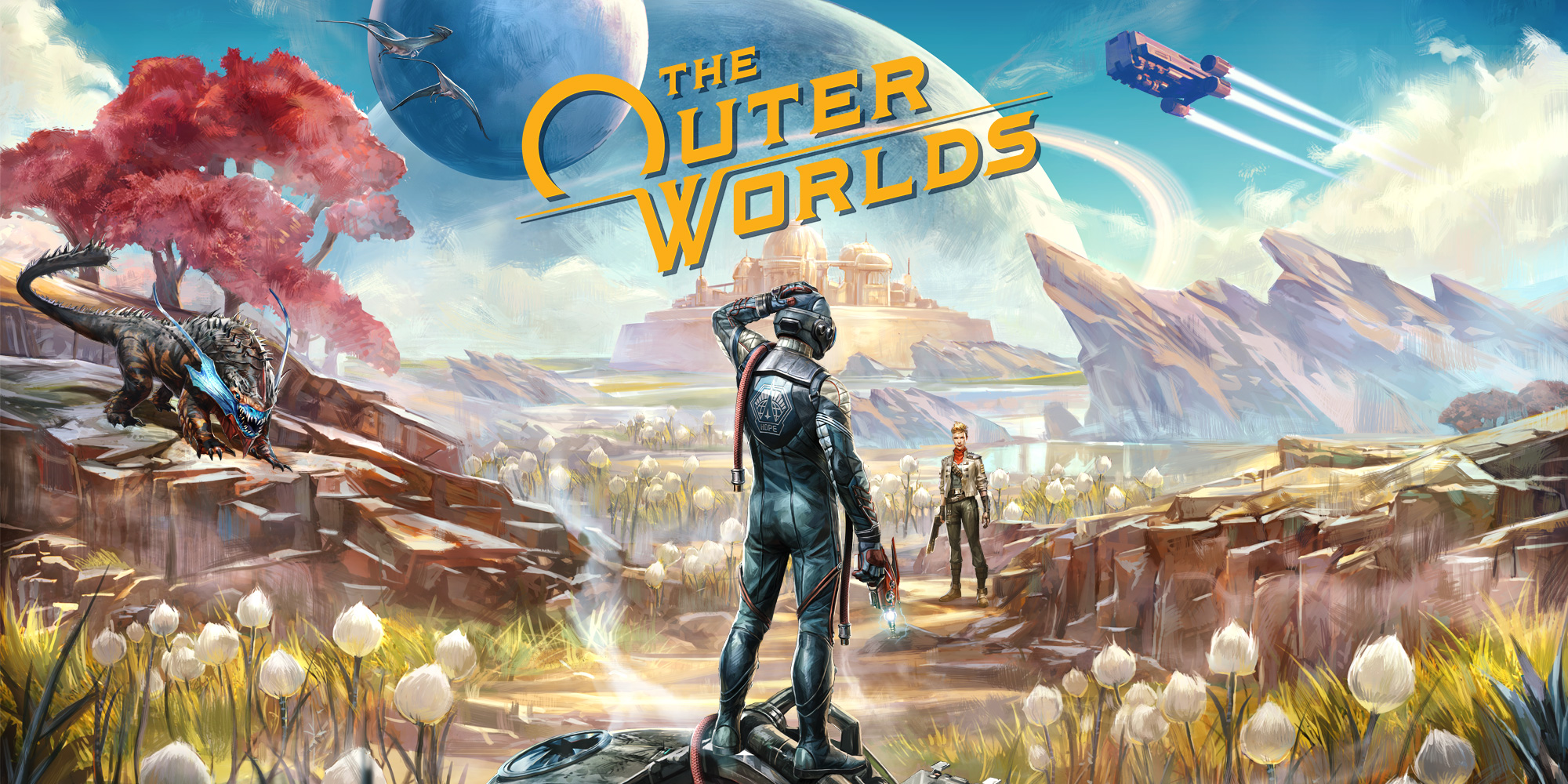 The Outer Worlds (Steam Key RU+CIS) + Gift