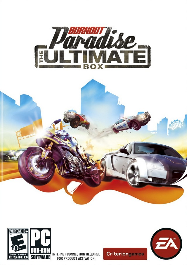 Burnout Paradise The Ultimate Box Steam Key/RegionFree