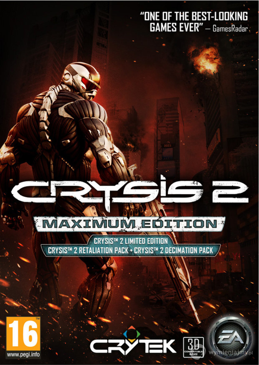 Crysis 2 Maximum Edition Steam Key/Region Free + СКИДКИ