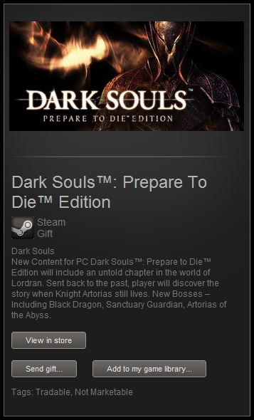 Dark Souls: Prepare To Die Edition ( STEAM GIFT | ROW )