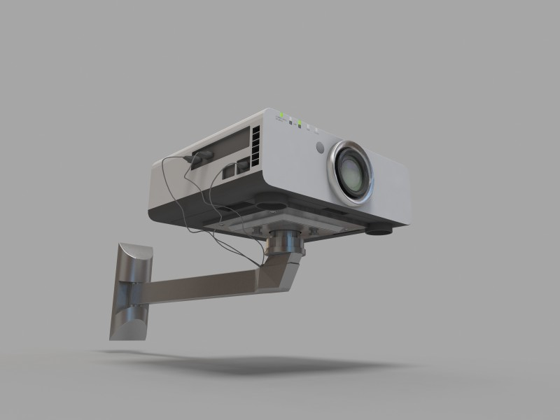 Projector Panasonic PT-D6000ES with bracket
