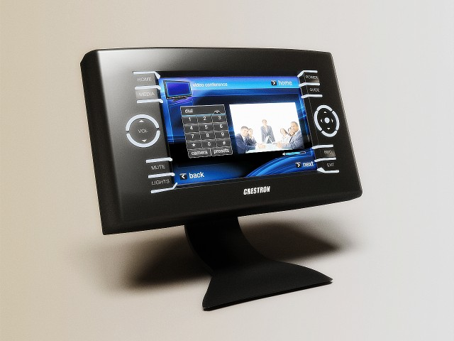 Crestron touchpanels