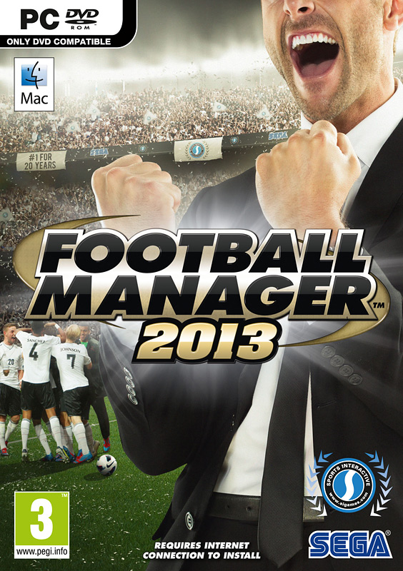 Football Manager 2013 (Steam key, RU+CIS)