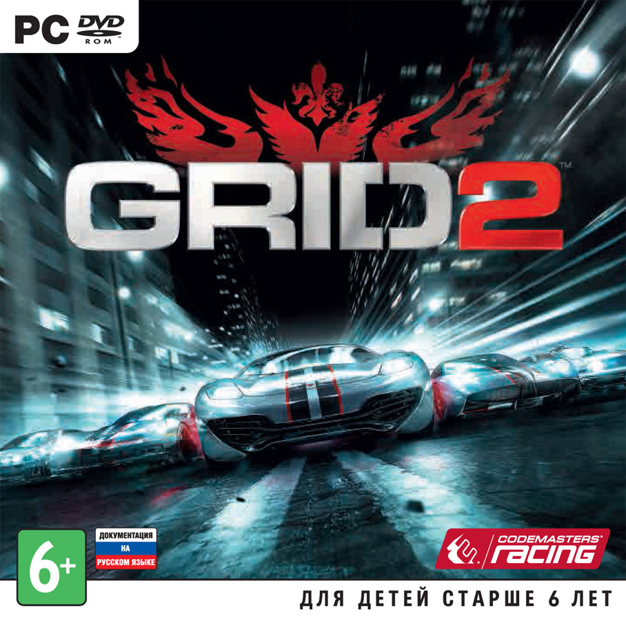 Grid 2 + DLC (Steam key) RU+CIS