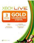 XBOX LIVE 3 MONTH GOLD SUBSCRIPTION MEMBERSHIP CARD(WW)
