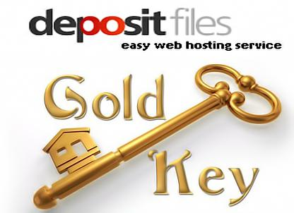 1 month Depositfiles GOLD key for 1 month