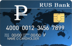 1$ VISA Virtual Card -  RUR, USD, EURO - мультивалютная