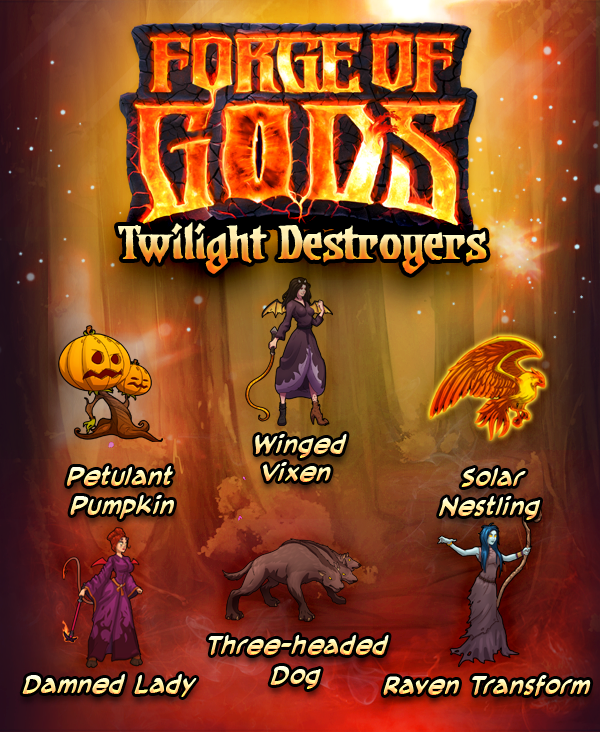 Forge of Gods: The Twilight Destroyers Pack