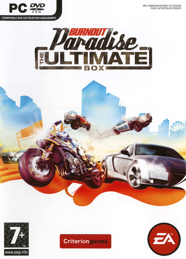 Burnout Paradise: The Ultimate Box (Origin) Region Free