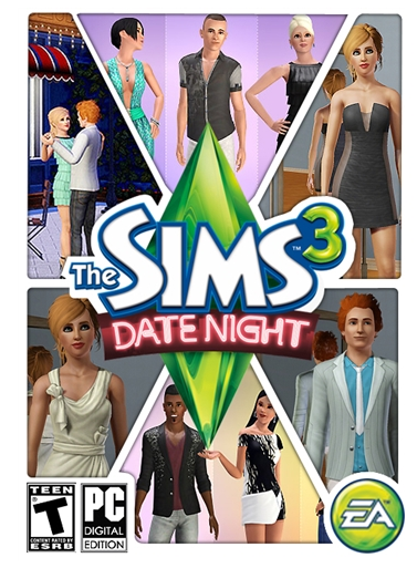 The Sims 3: Date Night Origin Key (Region Free)