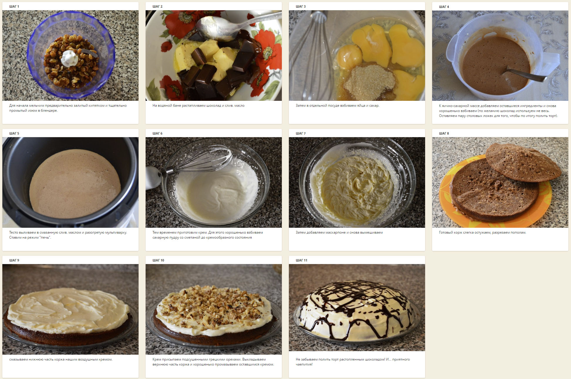 MySQL base recipes 22850; photo cooking 2019