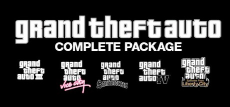 Grand Theft Auto Collection (Steam) + GIFT