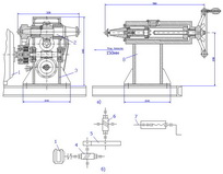 Drawing horizontal rotator T28 (general view)