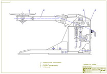 Drawing of welding manipulator M-150