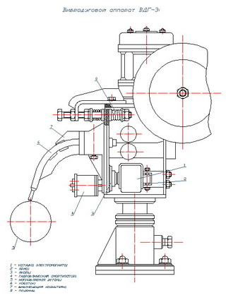 Drawing apparatus vibrodugovogo VDG3 (overview)