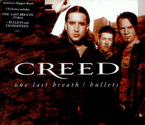 gtp ноты Creed — One Last Breath