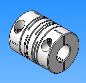 The coupling coil (3D model)