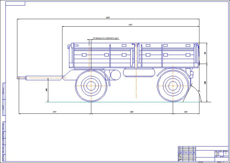 Drawing trailer GKB - 817