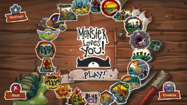 Monster Loves You! - (Steam Key / Region Free / ROW)