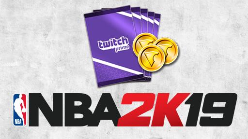 NBA 2K19 25000 Virtual Currency + 5 MyTEAM packs Code 2019