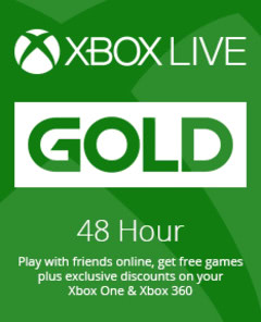 🔑XBOX LIVE GOLD 🔴48 HOURS TRIAL (all regions)