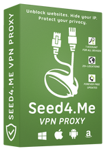 Seed4me VPN - 01.2021 Account 💎 unlimited traffic