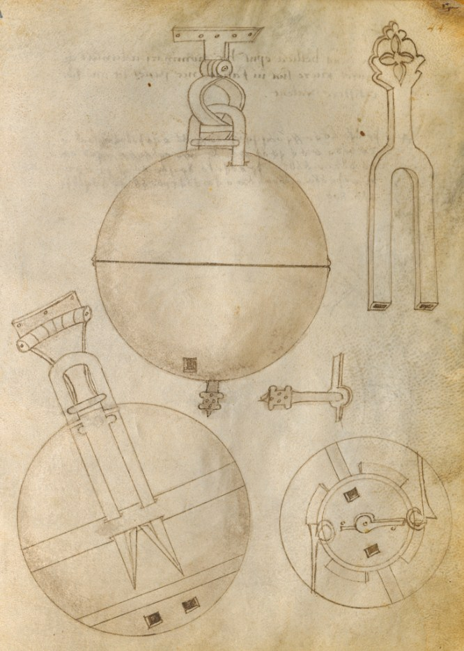 Archive of patents and inventions of 14-15 centuries