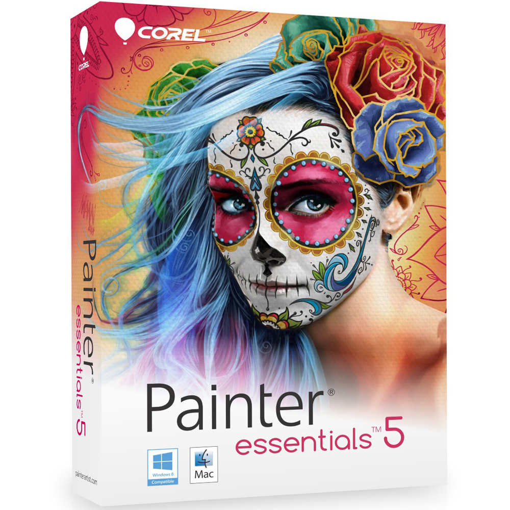 Corel Painter Essentials 5  Region Free Multilanguage