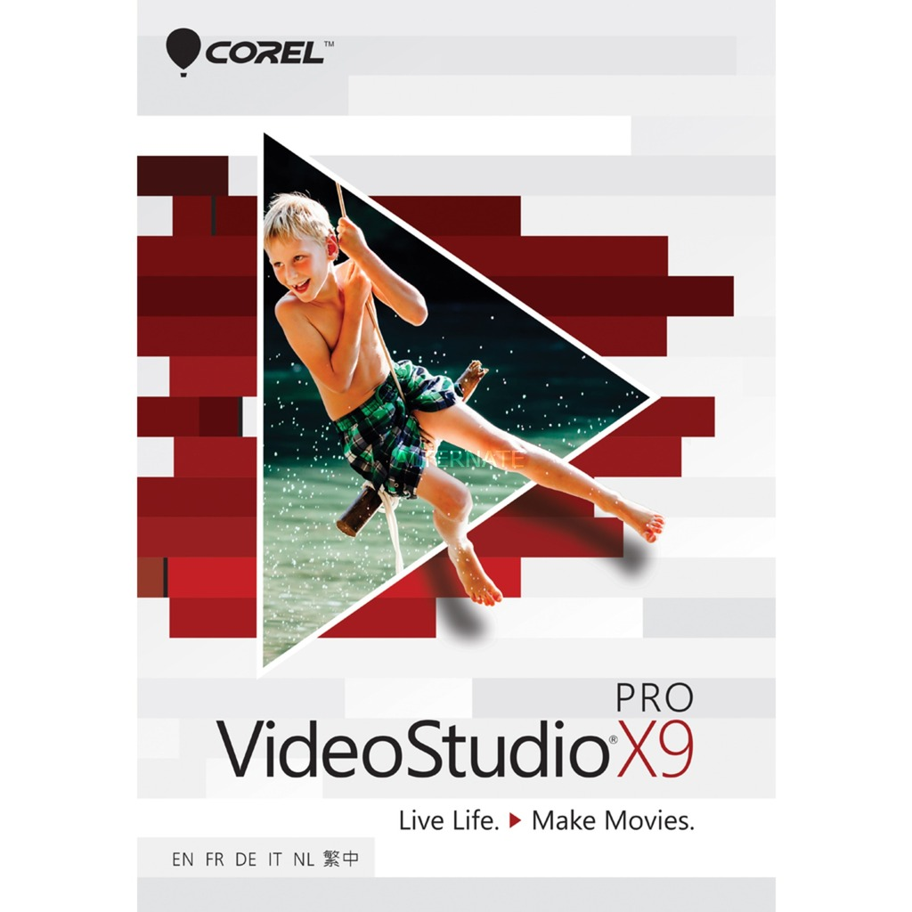 VideoStudio Pro X9  COD Region Free Multilanguage