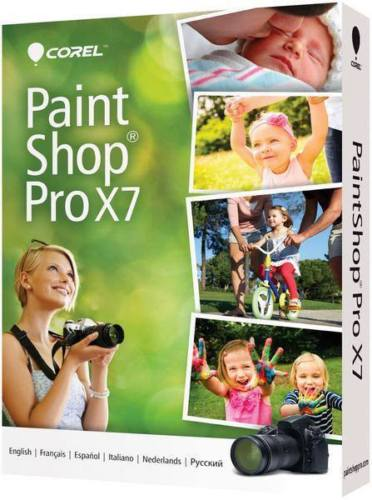 Corel PaintShop Pro x7(PC) - REGION FREE ALL LANGUAGES