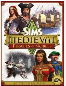 The Sims Medieval Pirates and Nobles DLC Origin key