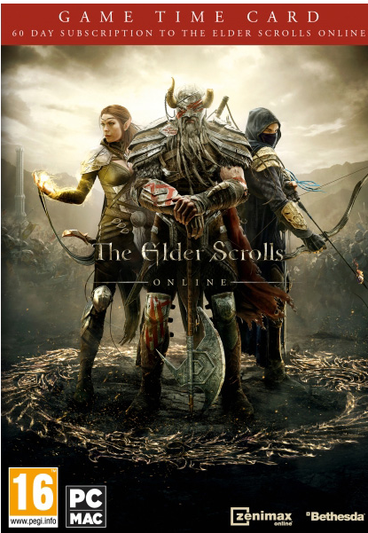THE ELDER SCROLLS ONLINE - 60 DAYS TIME CARD - DISCOUNT