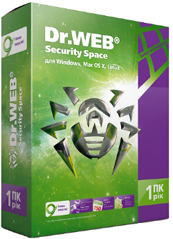 Dr.Web Security Space 1 yearPC 1  1 150 days mob REG FR