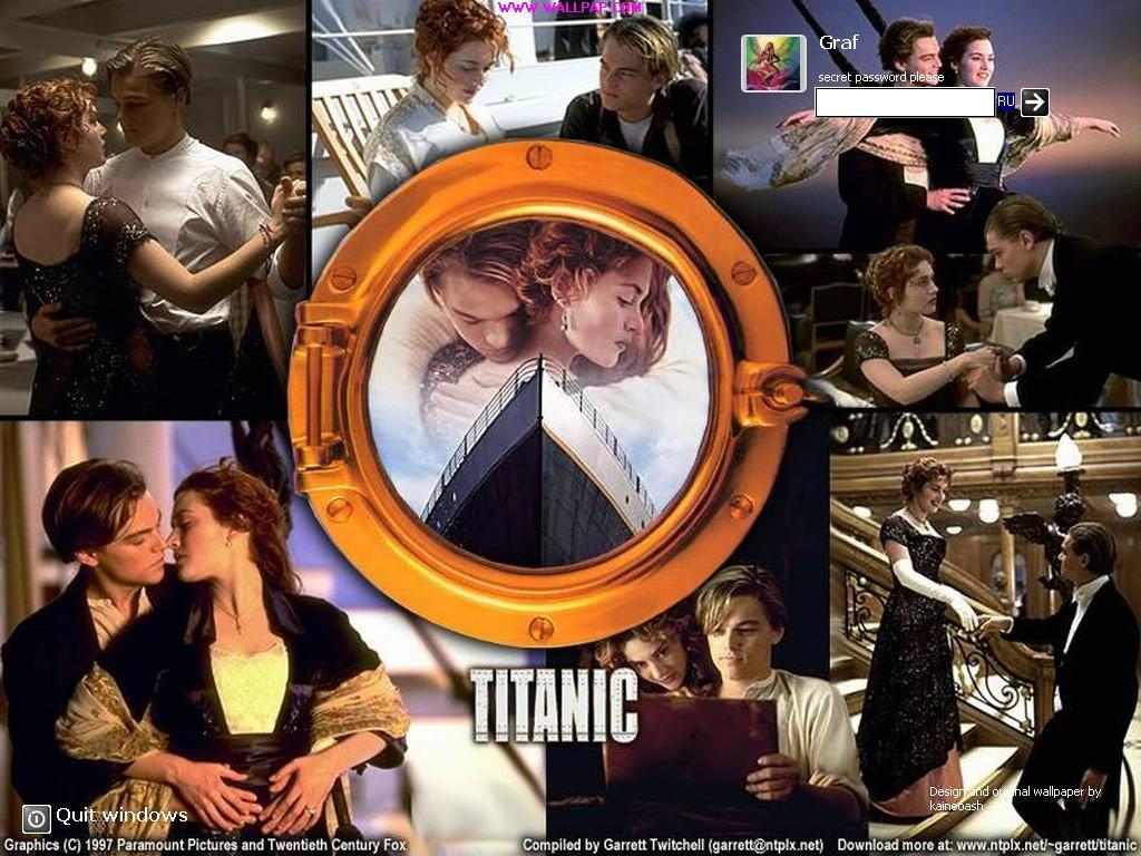 Welcome screen for Windows 10 Titanic
