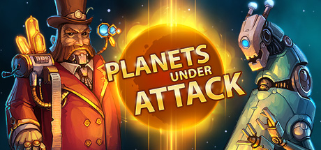 Фотография planets under attack [steam key/region free] 🔥