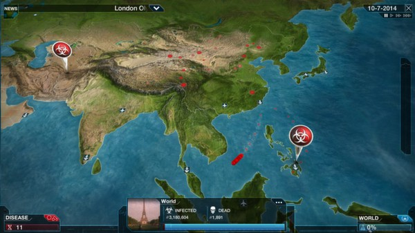 Plague Inc: Evolved (Steam gift) RU CIS