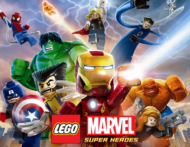 LEGO Marvel Super Heroes (Steam key) -- RU