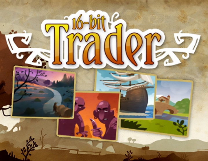 16bit Trader (Steam key) -- RU