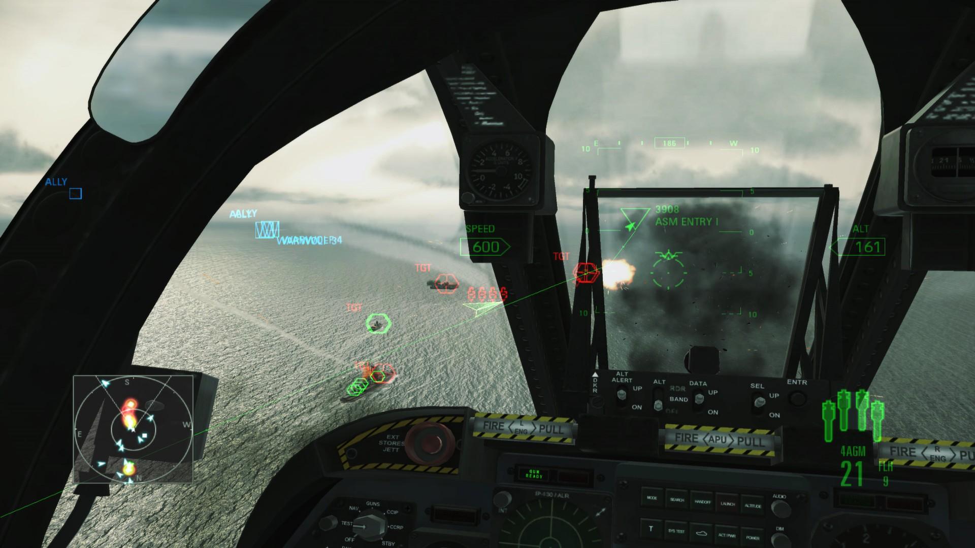 Ace Combat Assault Horizon (Steam key) -- RU
