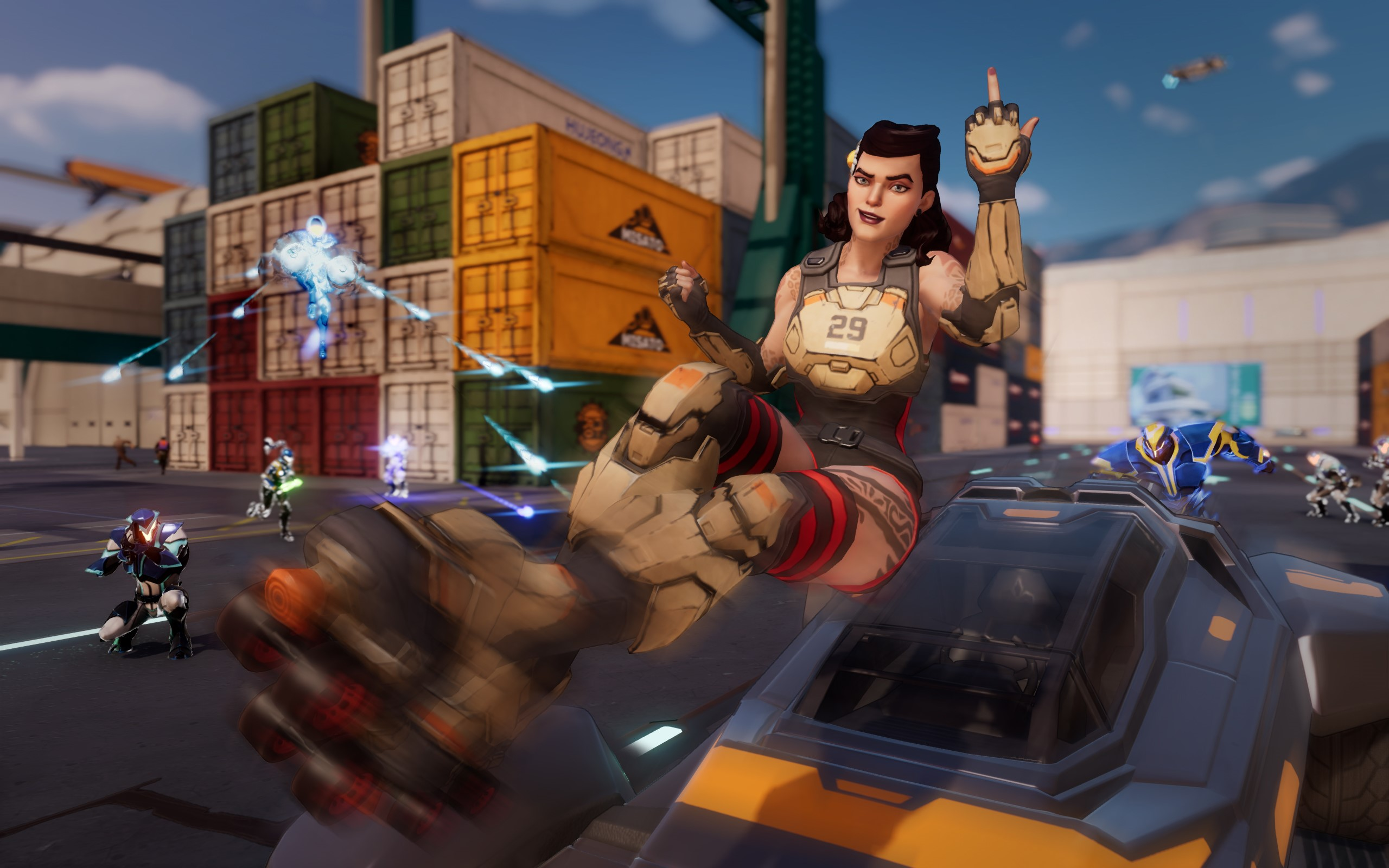 Agents of Mayhem (Steam key) -- RU